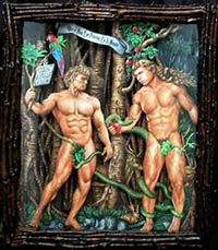 Adam et Steve porno gay