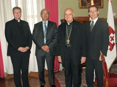 Who will investigate these men? They are the head of the Templar Knights in Oslo, and the Cardinal their Global head.