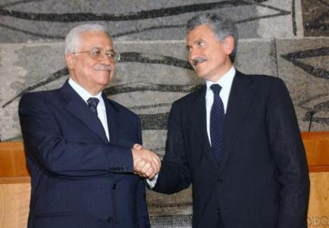 "Italian Foreign Minister suggested NATO should come and secure ""peace"" and a Palestinian state."