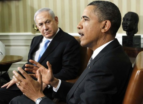 Obama won an important victory for Islam, by forcing Netanyahu to talk based on an accept of a  withdrawal
