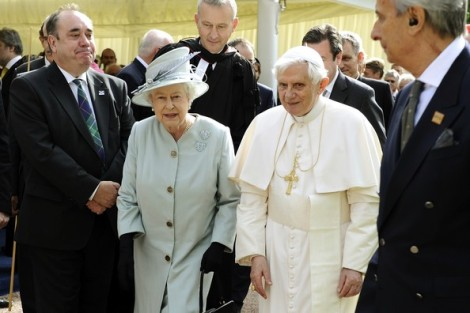 The Pope and the Queen of England needs to be saved by Jesus. If not they will perish.