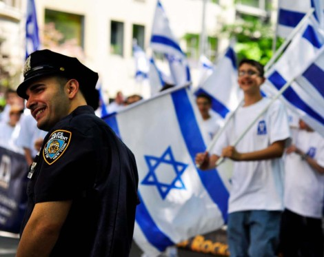 Jews in the diaspora must support Israel. Also liberals in New York City.