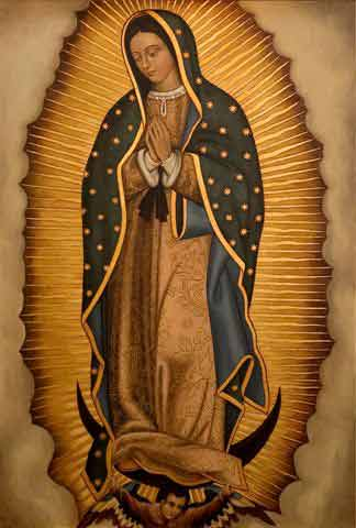 Our Lady of Guadalupe by Fr Raymund Reyes