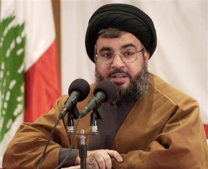 "Hasan Nasrallah wants ""allah"" to destroy Israel, with the help on the United Nations."