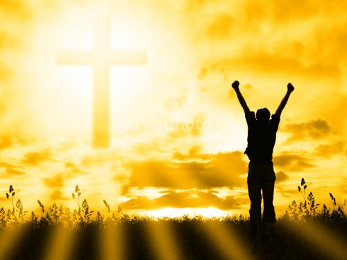 Always thank Jesus for the victory God the Son gained on the cross Worship At The Cross
