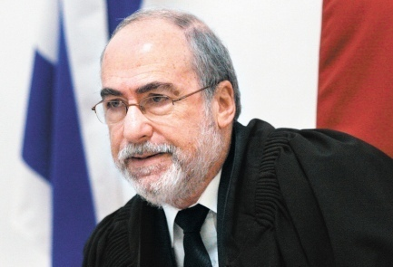 Supreme court Judge Asher Grunis is Israels last legal line of defense.