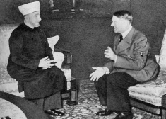 Islam and Nazism: Grand Mufti of Jerusalem supported Hitler and visited the Nazi-leader in Berlin in 1941. Click photo for more info.