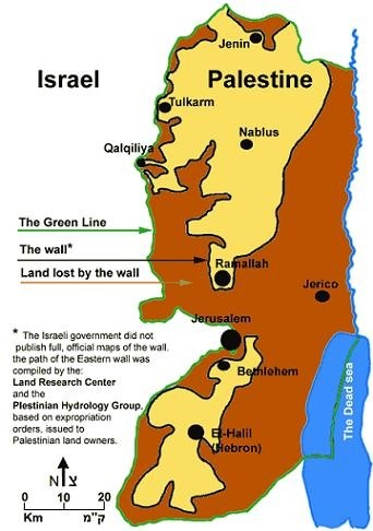 The International cominity has comitted a mortal sin by dividing the mountains of  Zion.