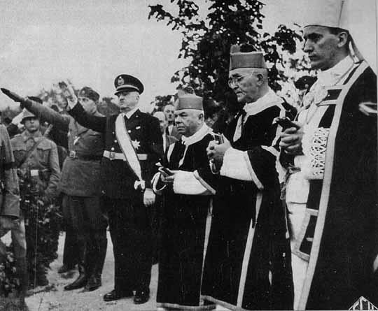 Cahtolics and Nazis