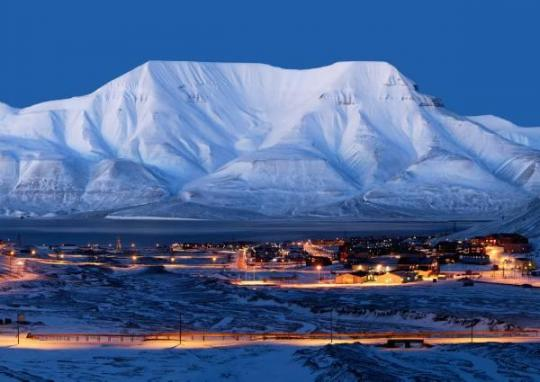 Spitzbergen Temperatur