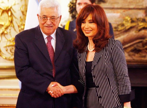 Abu Mazen and President of Argentina wants Israel to be reduced to a state not defendable.