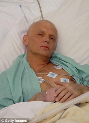 """He was supposed to die by cancer. The doctors in London detected the """"KGB-canser""""."""