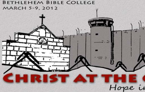"A ""Church"" facing the ""apartheid wall of the Jewish state of Israel"". Lies presented in the name of ""Christ""."