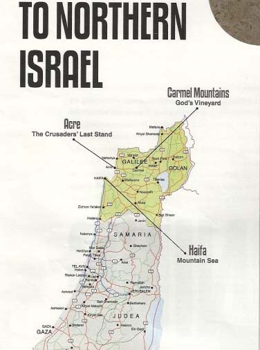 True map of Israel is banned in the UK.