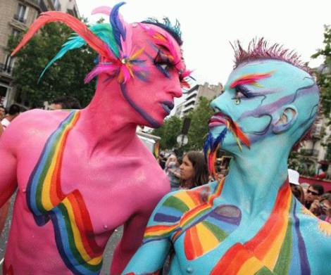 Gay parades all over the Planet display the ultimate ugliness of sodomy and rebellion against God their creator.