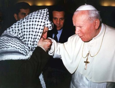 The nexus between the PLO and the Pope must not be denied. Both represent evil, and are totally disconnected from the Messiah Jesus of Nazareth.