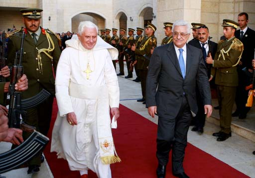 The Pope and the PLO has agreed to work for the eviction of Zionism in Jerusalem.