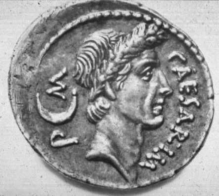 "The pagan emperor of Rome as ""Pontifex Maximus""."