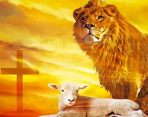 Preach the Messiah crucified. The Lamb of God is about to return as the Lion of Judah.