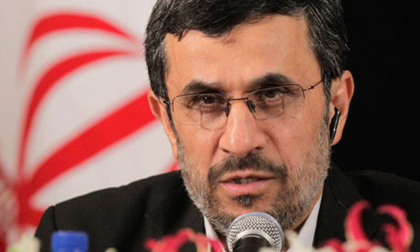 Mahmoud Ahmadinejad is blunt and direct in his Nazi inspired Jew-hate.