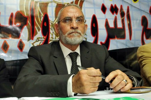Muhammad Badie is the ideological leader of the Muslim Brotherhood.