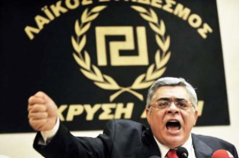 Nikolaos Michaloliakos do not mind being called an follower of the Nazi-ideology.