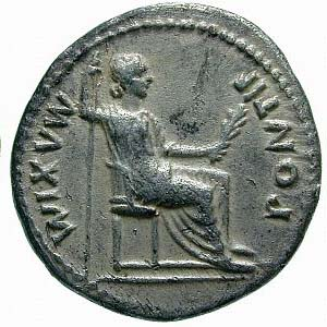 Pontifex Maximus in Rome was seated on the Chair of Jupiter.
