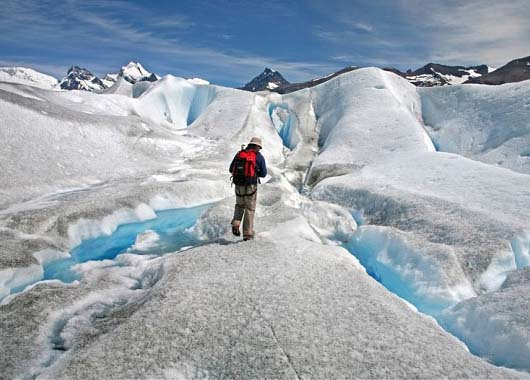 If the glaciers disappear in the Andes, hundreds of thousands of people will be left without drinking water.