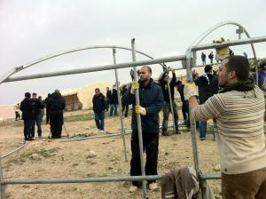 Arabs working hard to retake and occupy more Jewish land east of Jerusalem.
