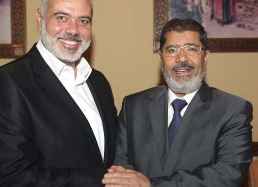 Ismail Hanyeth and Muhammad Morsi agree that Israel must be destroyed. But disagree how it best can be done.
