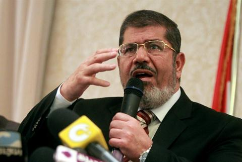 Muhammad Mursi leads a flock of Fascists, who claim the Holocaust is a hoax.