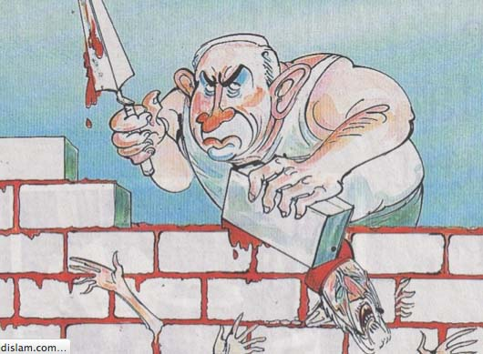 This kind of cartoons were published in all newspapers in Berlin, as directed by the Nazi party.