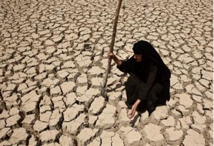 US study funds river basins, which water parts of Iraq, Iran, Turkey, Syria, have lost almost as much water as is in Dead Sea from 2003 to 2010.