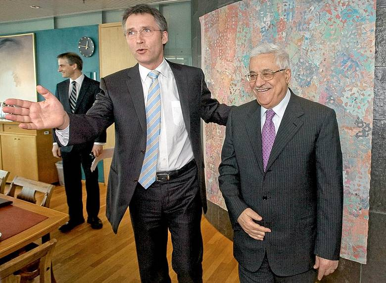 Norway PM Stoltenberg was engaged in a campaign to get a PLO-terrorist ut of prison.