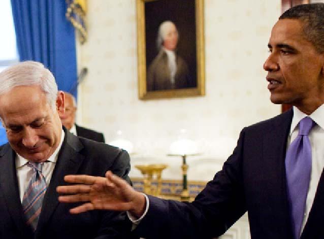 Obama try to put his hands into domestic politics in Israel, to weaken Benjamin Netanyahu.