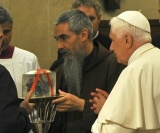 Pope prayed to the cut out heart of Padre Pio