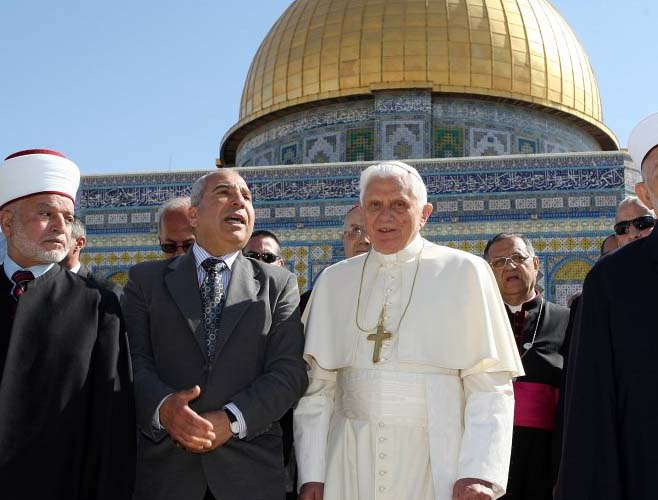 Israel seems to have sold jerusalem to the vatican news that matters islam and the catholic religion do agree on anti zionism and try to evict sciox Image collections