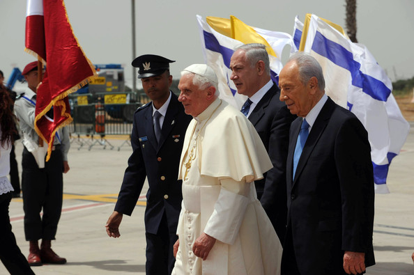 The Pope got a red carpet welcome in Israel in 2009. It was a dry run of the coming on the final antichrist.