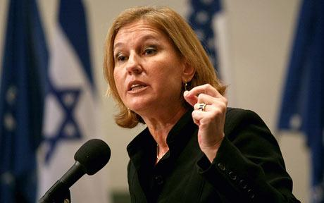 """Tzipi Livni will work with Obama to get a final """"peace"""" agreement with militant Muslims."""