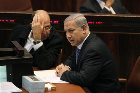 """New Defense Minister Moshe Yaalon and Benjamin Netanyahu have to talk boldly about """"peace""""."""