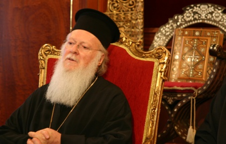 Ecumenical Orthodox Patriarch Bartholomew of Constantinople.