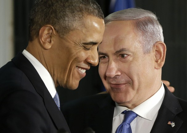 Mr. Hussein is very happy that Benjamin Netahyahu took a stand against the Israeli navy.