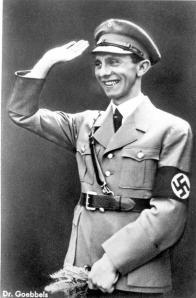 "Joseph Goebbels were presented by many European media as a ""peace maker""."
