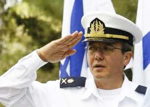 Former Admiral and head of the Israeli navy Eliezer Marom.