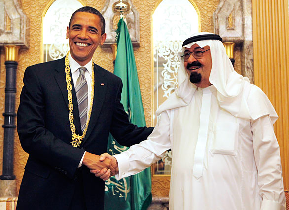"The US-Saudi nexus is an ""unholy alliance"" used to sponsor Islamic terror."