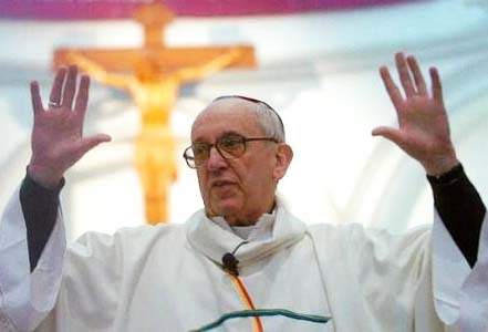 The new Pope has a political record that has already got him into trouble.