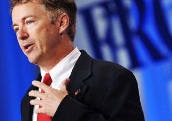 """Rand Paul warns against the new totalitarian system of """"justice""""."""