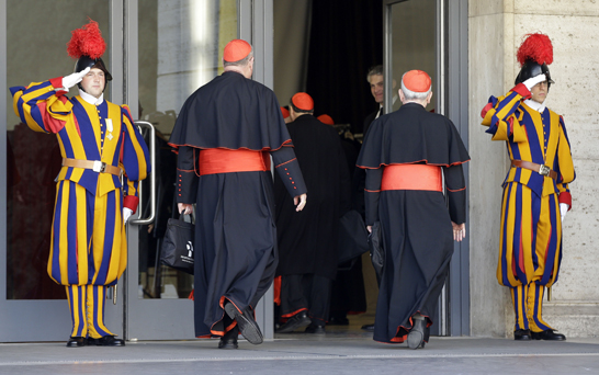 The Vatican has hidden homosexual priests and pedophiles for ages.
