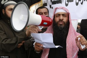 """Salafist is one of the proposed """"peace partners"""" for Israel."""