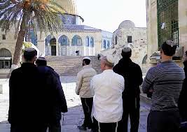 Jewish prayer at this site is seen as threat to World peace.